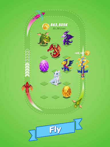 Dragons Evolution - Best Merge Idler 2.1.15 screenshots 11