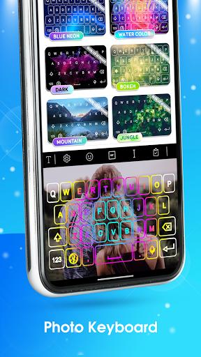 Neon LED Keyboard - RGB Lighting Colors android2mod screenshots 5