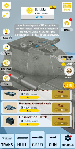 Idle Tanks 3D 0.8 screenshots 8