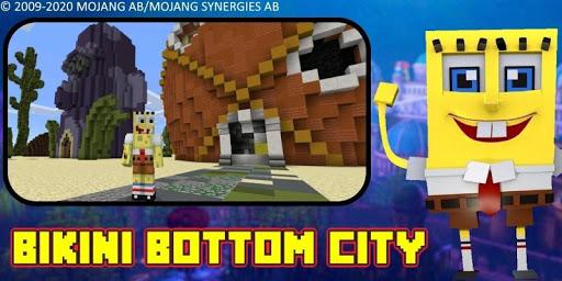 Bikini Bottom City Craft Map 7.0 screenshots 17