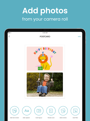 TouchNote: Card Maker - Postcards & Greeting Cards  screenshots 12
