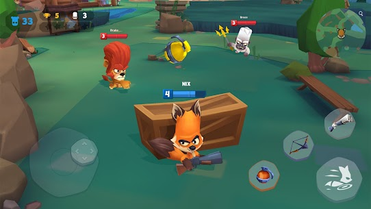 Zooba: Free-for-all Zoo Combat Battle Royale Games Mod 2.18.3 Apk [Unlimited Skills] 1