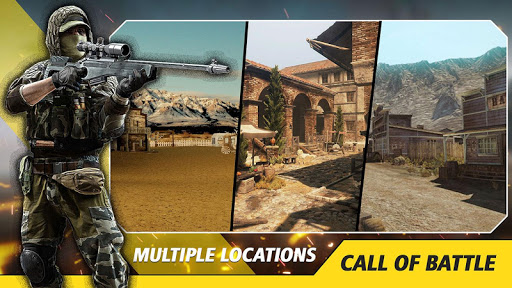Counter Critical Strike: Army Mission Game Offline screenshots 9