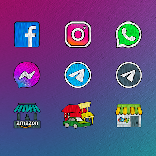 Painting – Icon Pack 2.1.5 Mod APK Updated Android 3