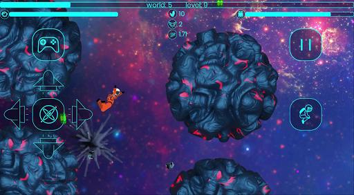 Code Triche Astronaut Stickman in a Space Jetpack Simulator APK MOD (Astuce) screenshots 4