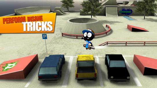 Stickman Skate Battle MOD APK (Unlimited Money) 3