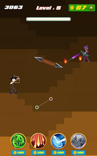 stickman archer - dragon legends offline screenshot 3