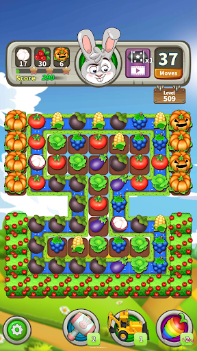 Farm Raid : Cartoon Match 3 Puzzle  screenshots 5