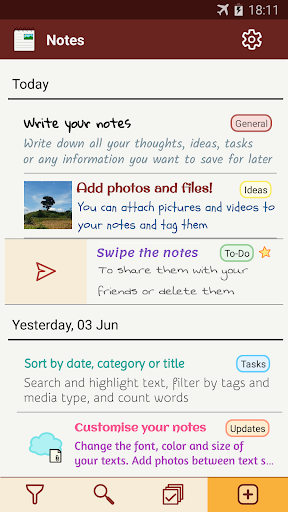 Notes with pictures - easy notepad with images apktram screenshots 1