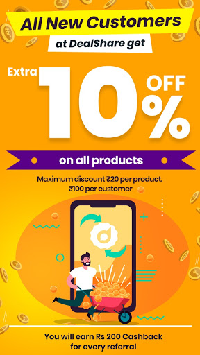 DealShare - Made in India. Grocery at Lowest Price 0.1.75 screenshots 1
