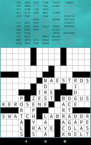 Classic Drag-n-Drop Crossword Fill-Ins 1.21 screenshots 9