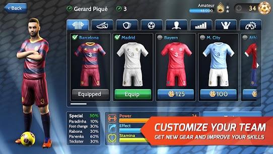 Final kick 2020 Best Online football 9.1.4 MOD APK  [ALL MODED] 5