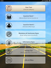 Driving Licence Practice Tests & Learner Questions screenshot thumbnail