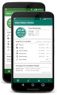 GSam Battery Monitor Screenshot