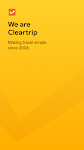 screenshot of Cleartrip - Flights, Hotels, Train Booking App