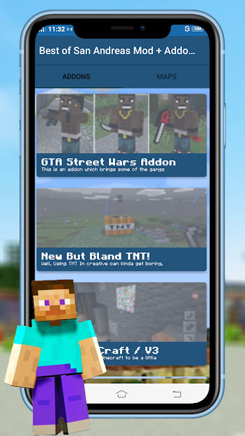 Screenshot 6 de Best of San Andreas Mod + Addons CJ for MCPE para android