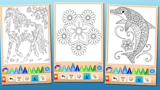 Coloring game for girls and women 15.1.4 screenshots 14