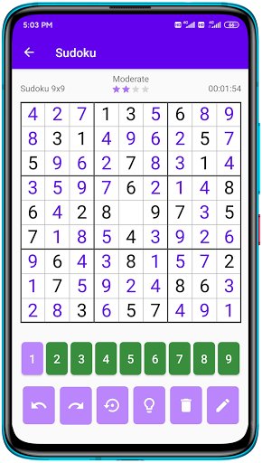 Sudoku - Free Sudoku Puzzles, Number Puzzle Game android2mod screenshots 3