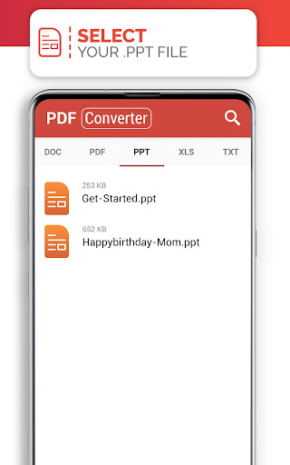PDF Converter (doc ppt xls txt word png jpg wps) 207 Screenshots 7