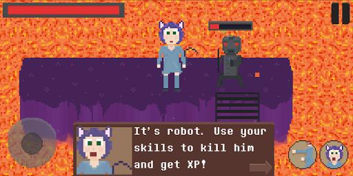 Code Triche Catgirl: NekoChan Adventure! mod apk screenshots 1