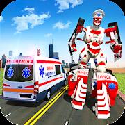 Ambulance Robot City Rescue Game
