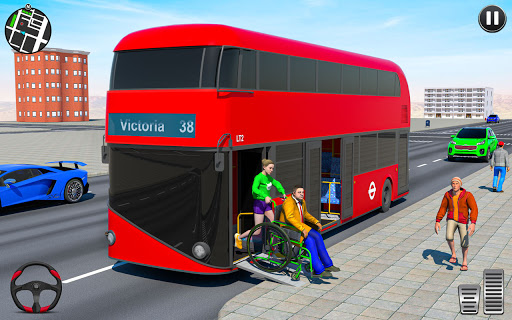 Modern Bus Simulator Games-Free Bus Driving Game 1.0.3 Screenshots 19