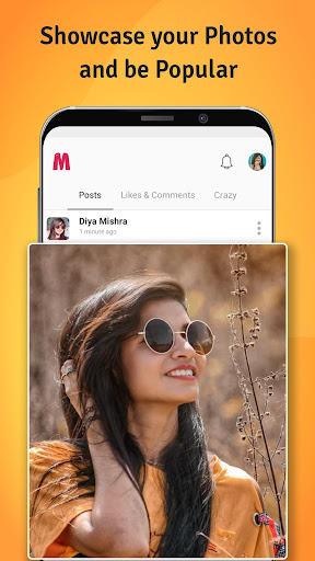 mineapp - truly indian social app screenshot 2