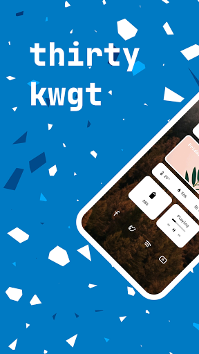 Download APK: thirty kwgt v3.5 [Paid]