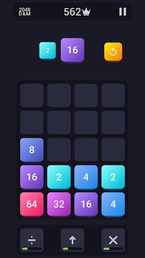 2048: Drop And Merge 1.3 screenshots 1