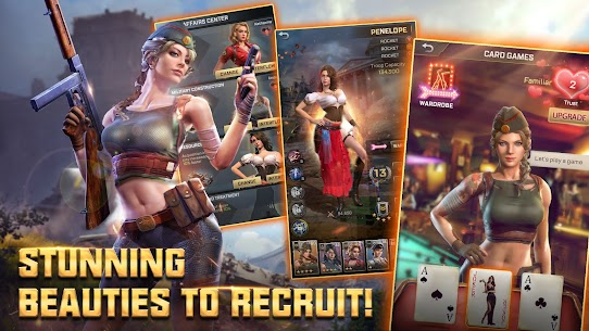 Kiss of War (MOD, Unlimited Money) For Android 5