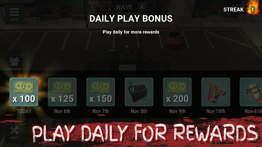Overrun: Zombie Horde Apocalypse Survival TD Game apkpoly screenshots 7