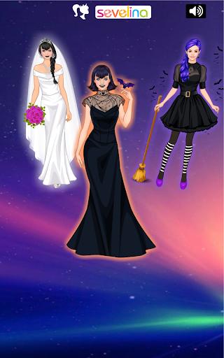 Sweet Vampire Wedding dress up  screenshots 1