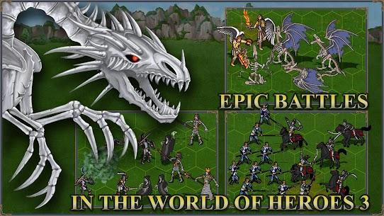 Heroes 3 MOD APK: Castle fight medieval (UNLIMITED GEMS) 1