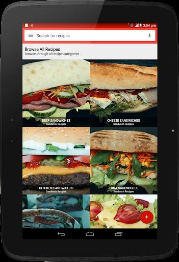 Foto do Sandwich Recipes