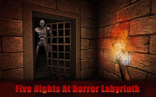 five nights at maze horror screenshot 1