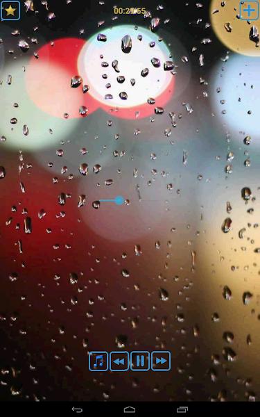 Piano songs with rain
