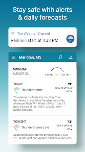 Weather & Hurricane Tracker: The Weather Channel Screenshot