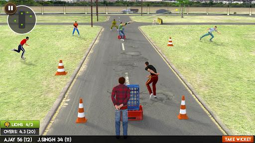Street Cricket Games: Gully Cricket Sports Match 4 screenshots 2