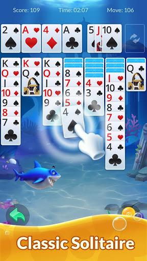 Solitaire Fish - Aquarium Adventure  screenshots 2