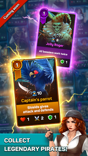 Pirates & Puzzles - PVP Pirate Battles & Match 3  screenshots 6