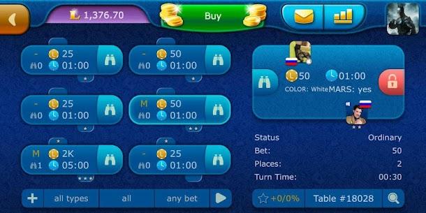 Backgammon LiveGames – live free online game 5