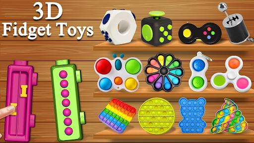 Fidget Cubes 3D Toys - Antistress & anti anxiety  screenshots 1
