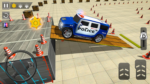 Advance Police Parking- New Games 2021 : Car games  screenshots 4
