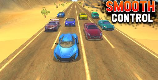 Traffic Car Racing: Highway Driving Simulator  screenshots 2
