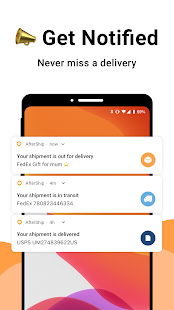 AfterShip Package Tracker - Orders Parcel Tracking Screenshot