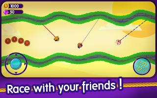 Rope Clash: Multiplayer Rope Swing Racing