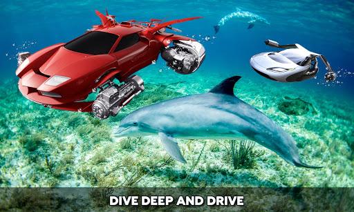 Floating Underwater Car Simulator apklade screenshots 2