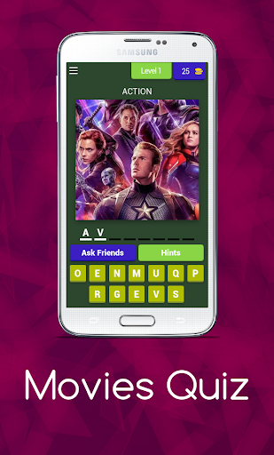 Movies Quiz 8.7.3z screenshots 1