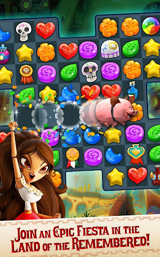 Sugar Smash: Book of Life - Free Match 3 Games. 3.96.203 Screenshots 8