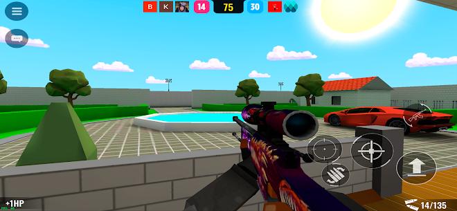 BLOCKFIELD – 5v5 Shooter Mod Apk 0.9811 (God Mode) 2